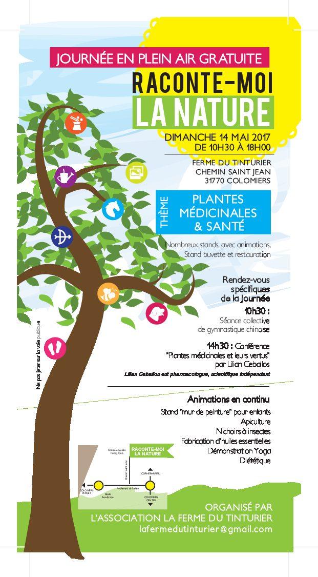 Journée santé naturelle à Colomiersle 14 mai